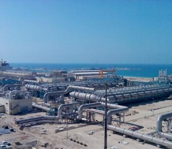 Consrcution of  Desalination and Power Plant - Yanbu  Phase 3